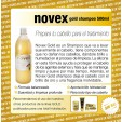 Champú Profesional NOVEX Gold con brillo Up+79 - 01 litro
