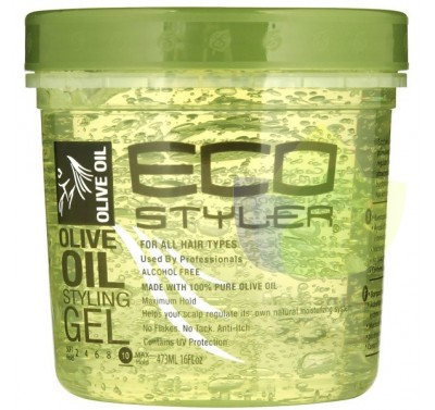 Eco Styler Gel Prof.alcohol Free c/Aceite de Oliva-710ml